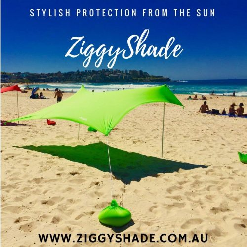 ZiggyShade Beach Sunshade