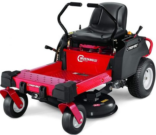 Troy-Bilt Mustang Riding Lawn Mower