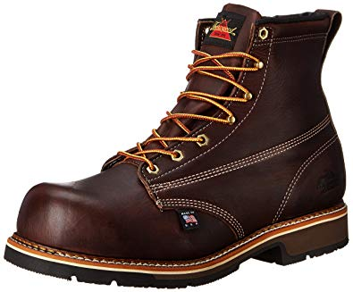 Thorogood Lace-up Safety Boot - Men Work Safety Boots for Site Workers