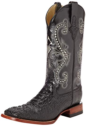 Ferrini Crocodile Print Western Boot