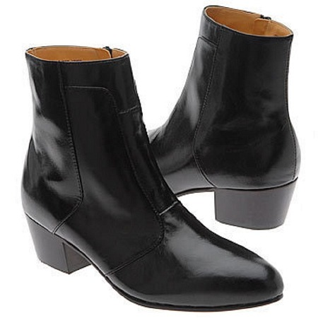 Cuban Heel Dress Boot by Giorgio