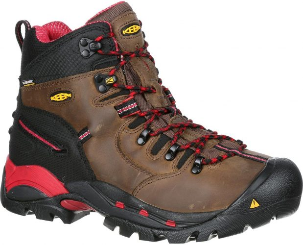 KEEN Pittsburgh Work Boot - Men Work Safety Boots for Site Workers