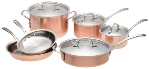 Calphalon Copper Cookware Set