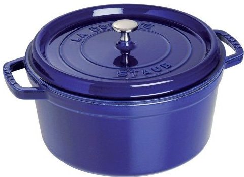 Staub Round Dutch Oven - Enameled Cast Iron Dutch Ovens