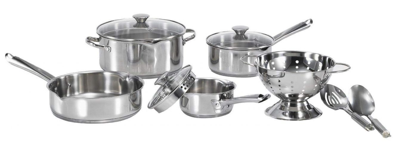 WearEver Cook and Strain Set - Affordable Cookware Sets