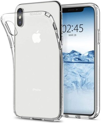Spigen Liquid Crystal - iPhone X Protective Case