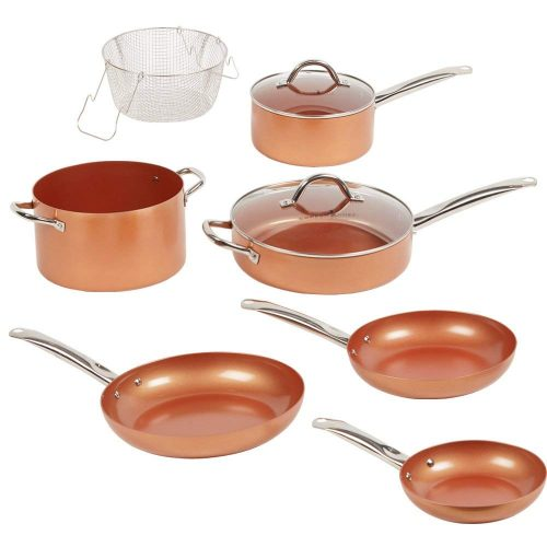 Top 10 Best Copper Cookware Sets In 2019 Highly Recommended