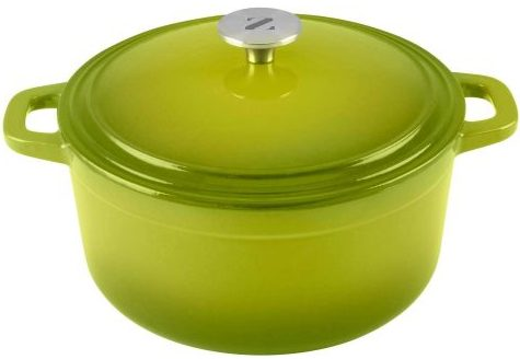 Zelancio Enamel Cast Iron Dutch Oven