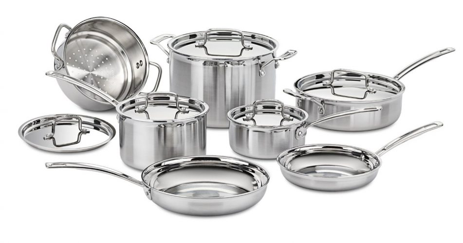 Cuisinart MultiClad Cookware Set