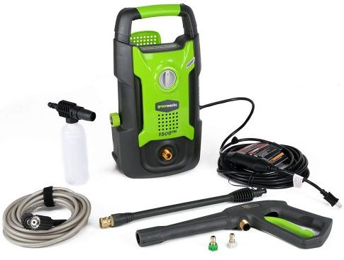 Greenworks 1500 Pressure Washer