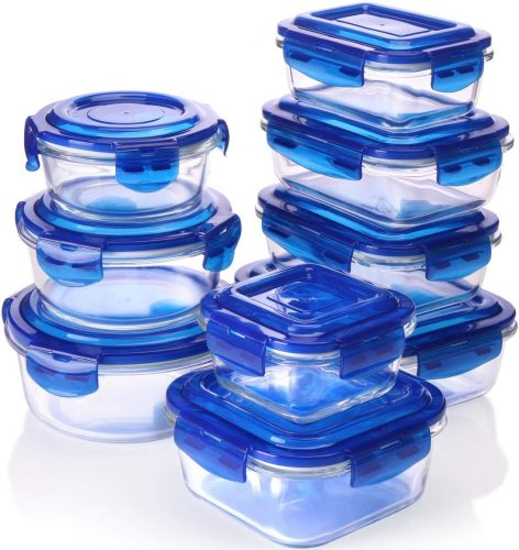 Utopia Glass Food Storage Containers