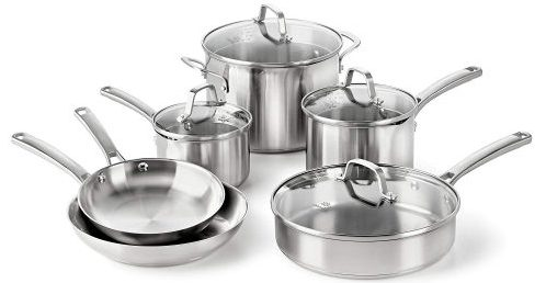 Top 10 Best Stainless Steel Cookware Sets In 2019 A Must