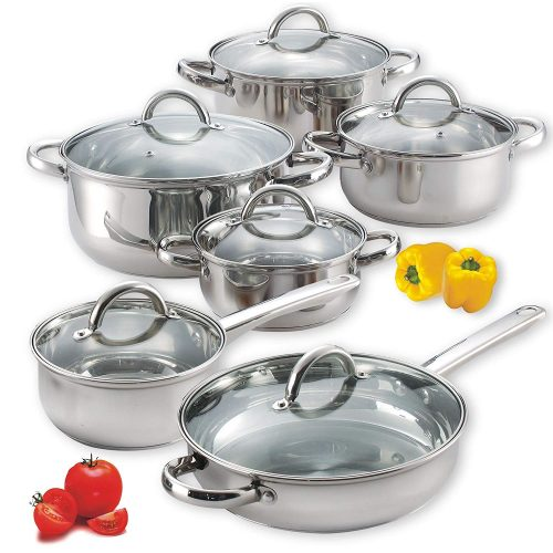 Cook 'n Home - Stainless Steel Cookware Sets