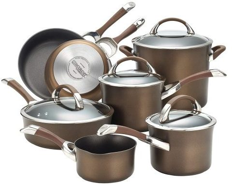 Circulon Symmetry Cookware Set - Hard Anodized Cookware Sets