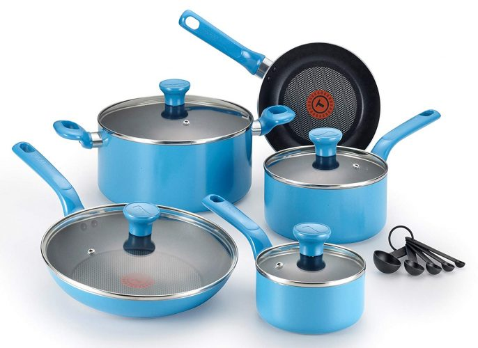 T-fal Excite 14-Piece Cookware Set