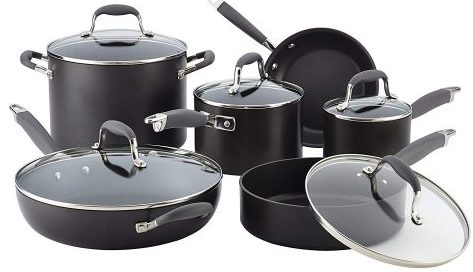 Anolon Cookware Set - Hard Anodized Cookware Sets