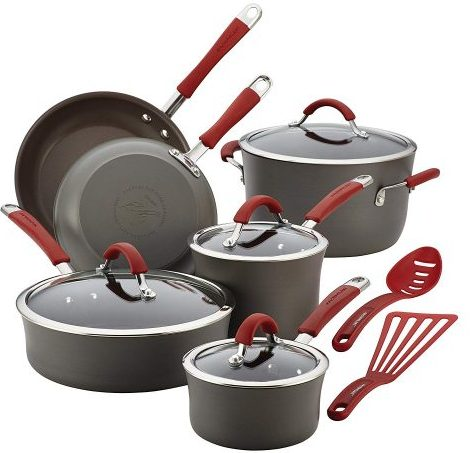 Rachael Ray Cucina - Hard Anodized Cookware Sets