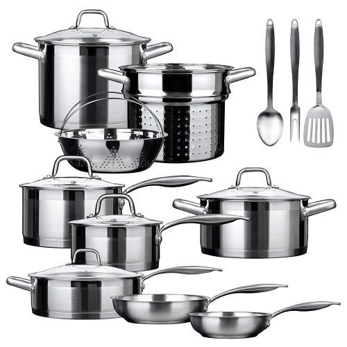 Duxtop Stainless Steel Cookware Set
