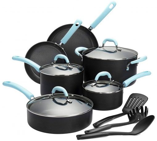 Finnhomy Super Value Cookware Set - Hard Anodized Cookware Sets