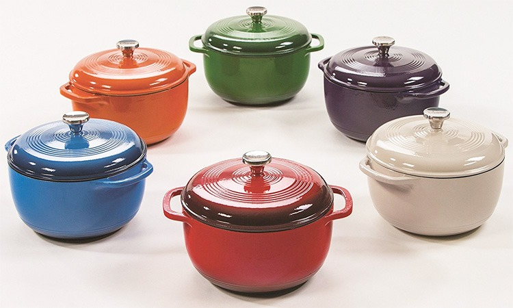 Top 10 Best Enameled Cast Iron Dutch Ovens in 2019