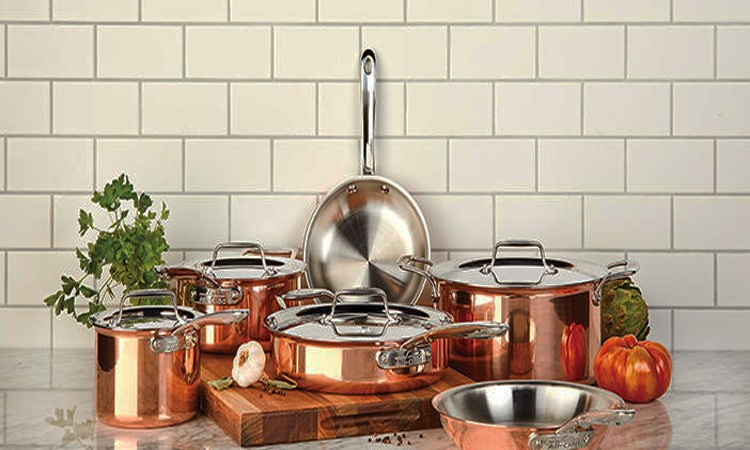 Top 10 Best Copper Cookware Sets in 2019