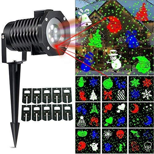 UCHARGE Christmas Laser Light - Outdoor Laser Lights for Christmas