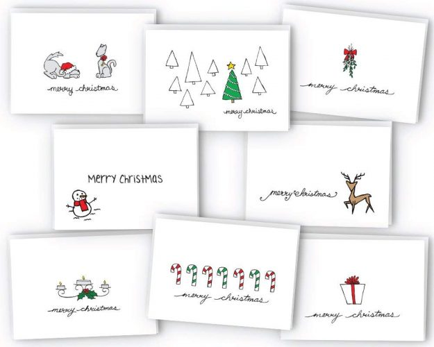 Merry Christmas Greeting Card Collection - Christmas Greeting Cards