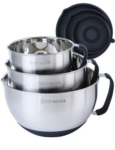 Rorence Stainless Steel Mixing Bowl