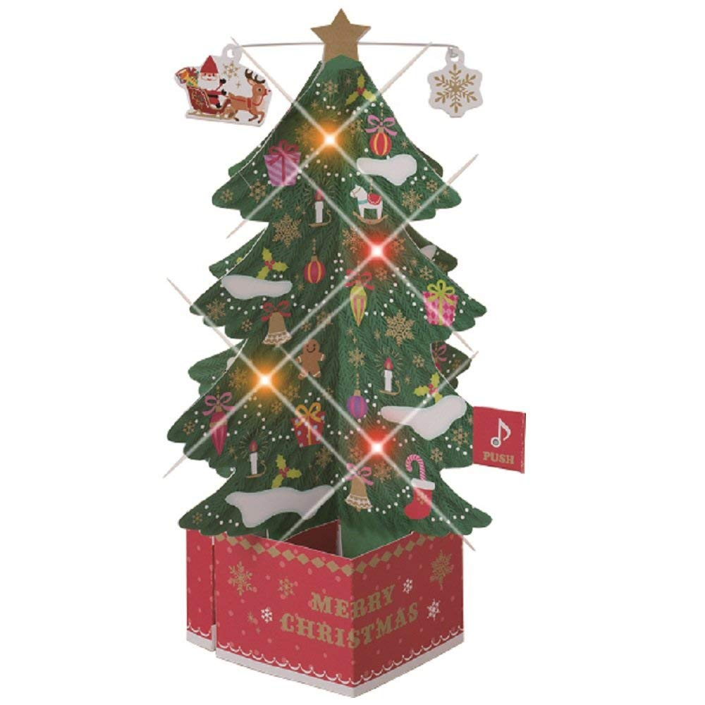 Magical Christmas Tree Popup Card