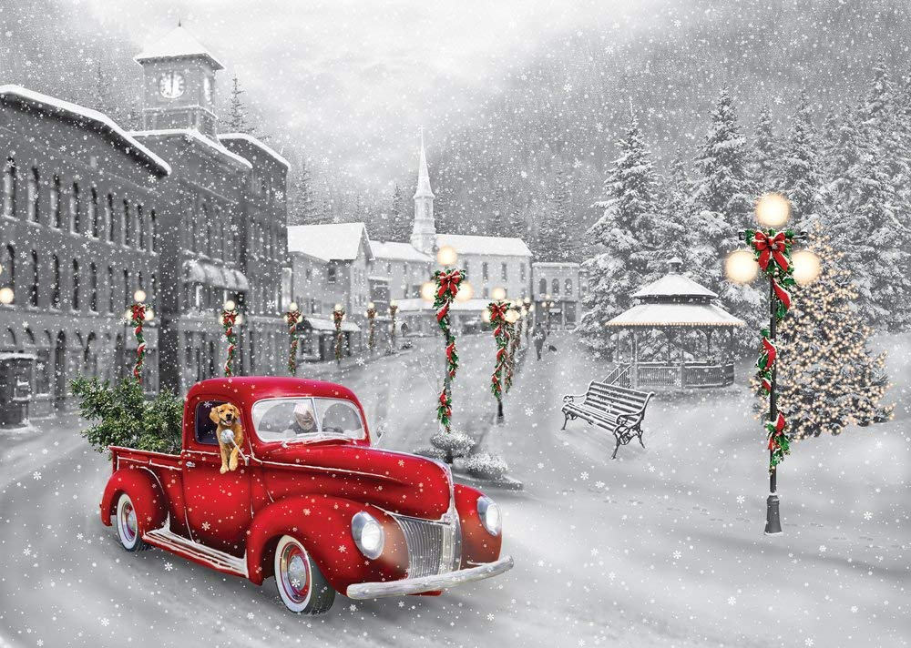 Holiday Ride Christmas Greeting Cards