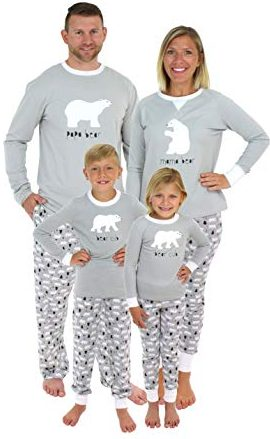 Sleepyheads Family Matching Bear PJ Sets - Cutest Christmas Pajamas