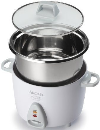 Aroma Stainless Rice Cooker