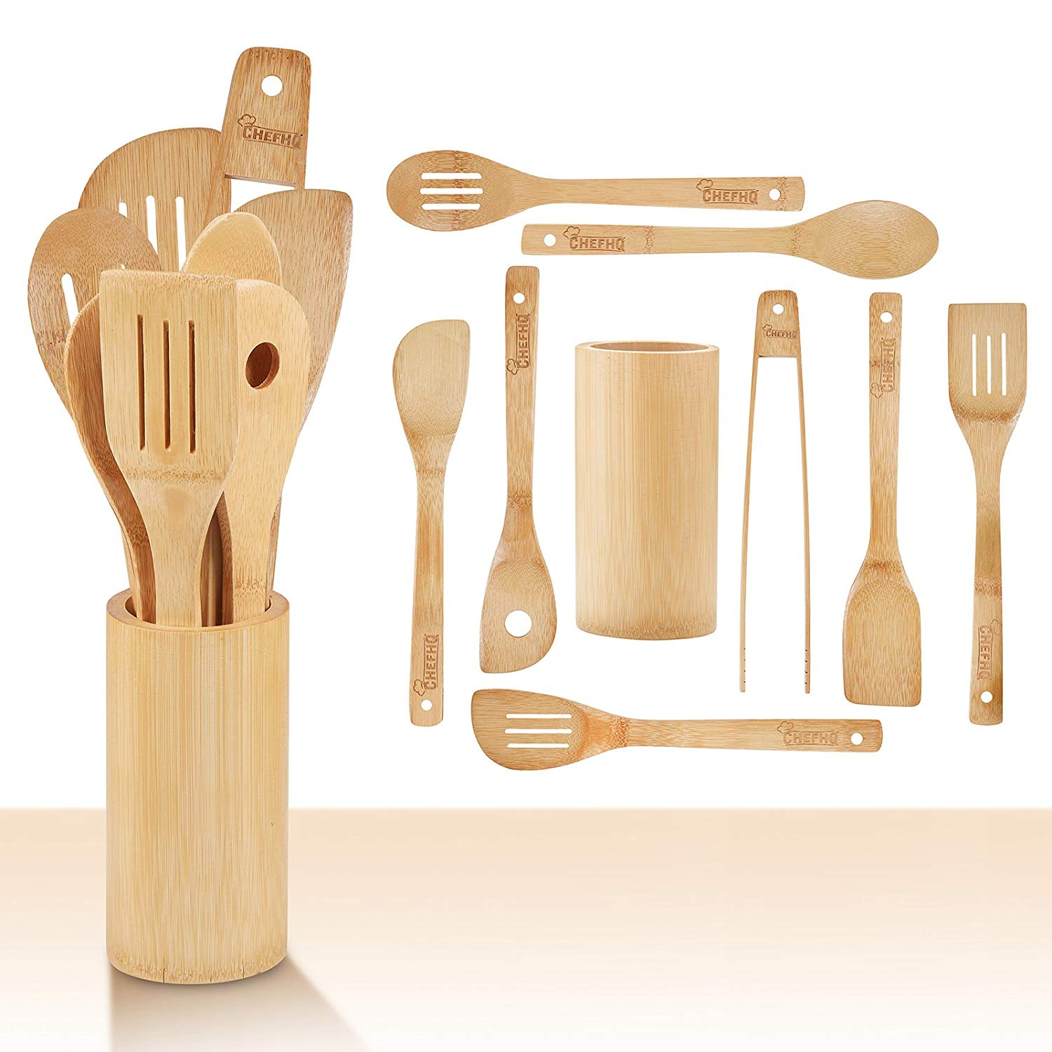 Top 10 Best Wood Cooking Utensils In 2019