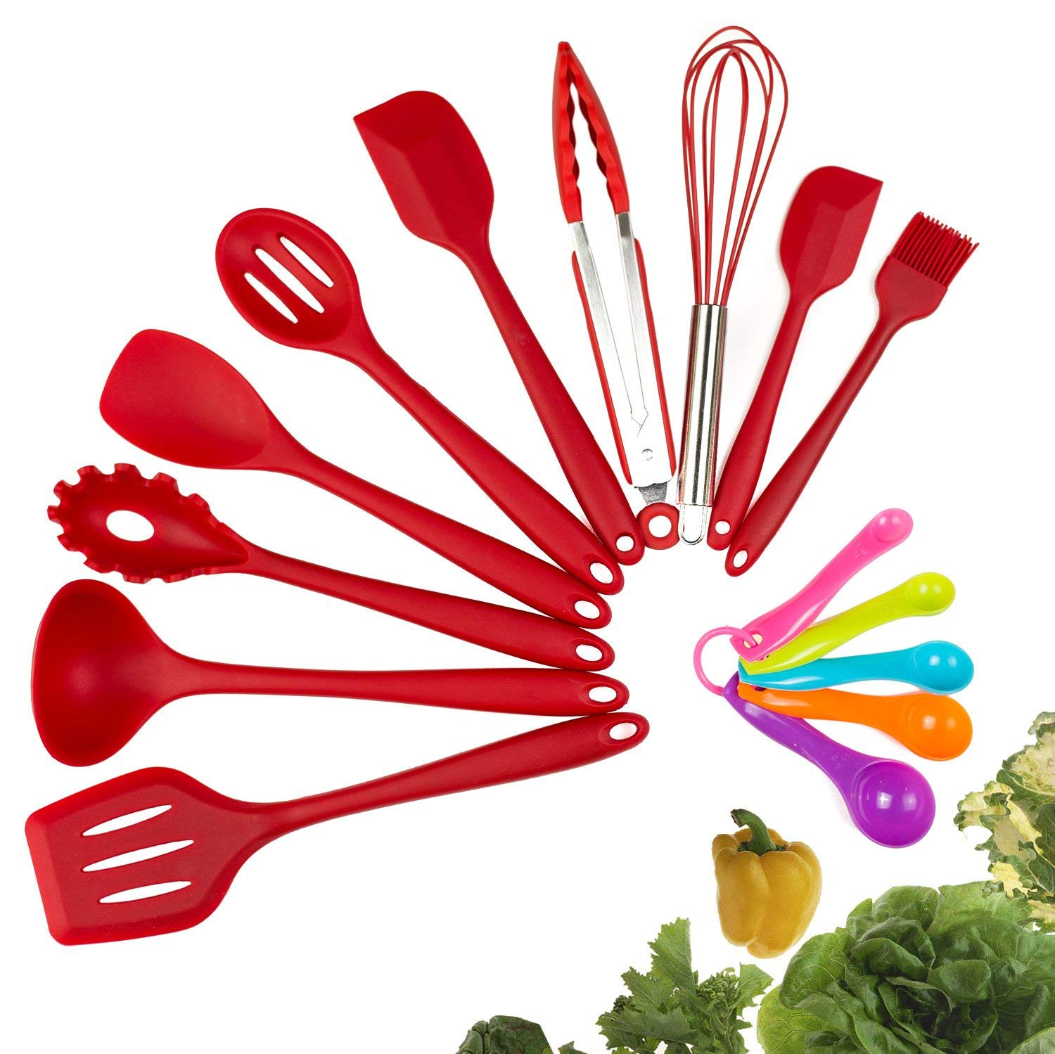 Ten-Piece Silicone Utensil Set