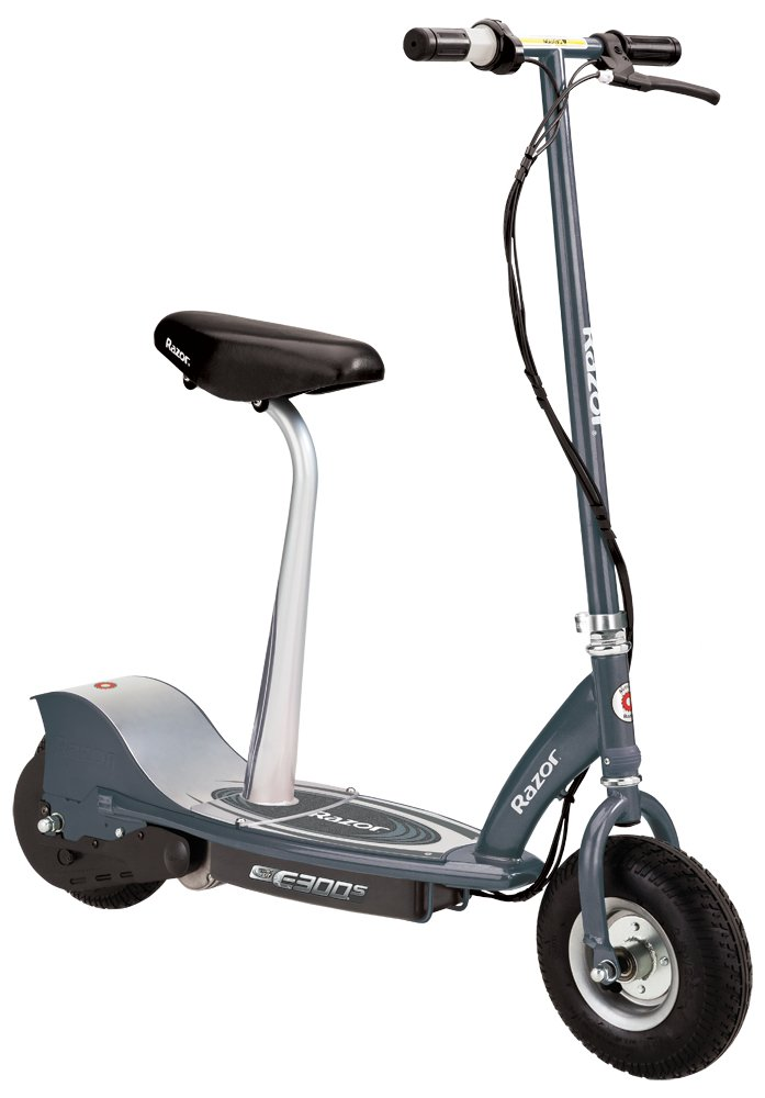 Razor E300S Seated Electric Scooter - Electric Scooters for Adults