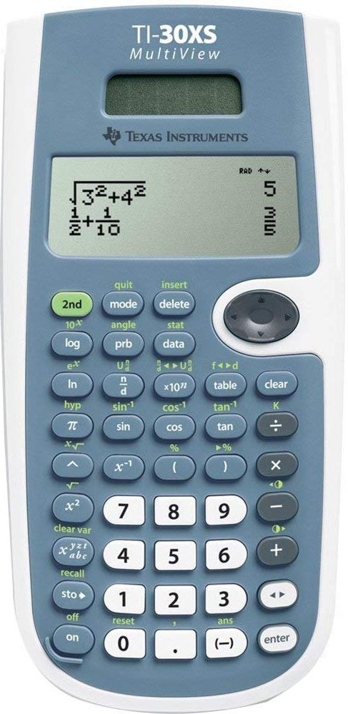 Texas Instruments TI-30XS MultiView Calculator