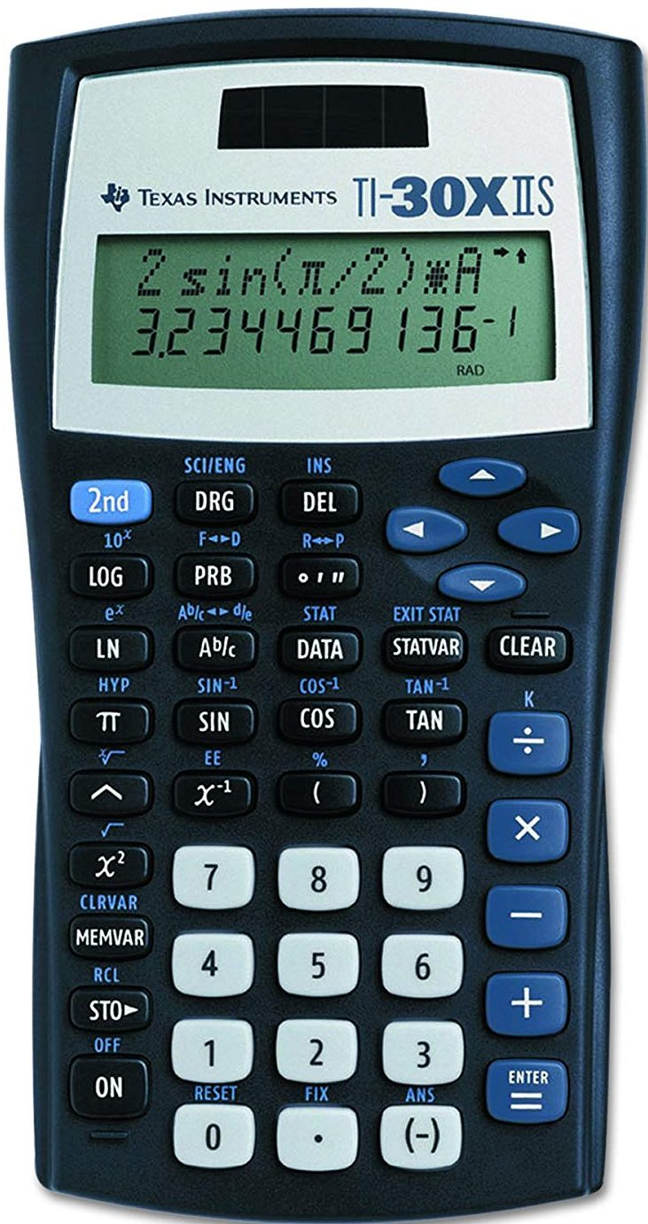 Texas Instruments TI-30 XIIS Scientific Calculator