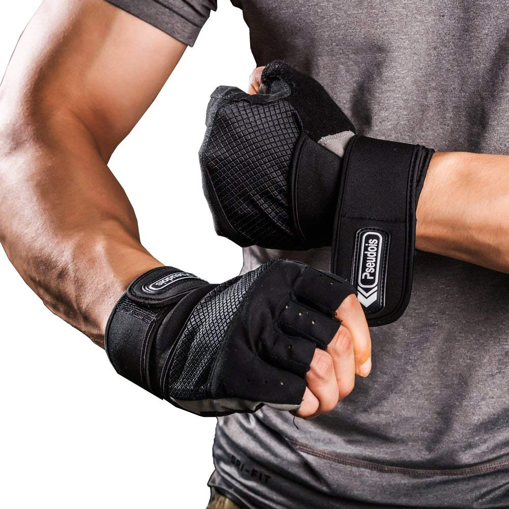 Pseudois Men's Weight Lifting Gloves