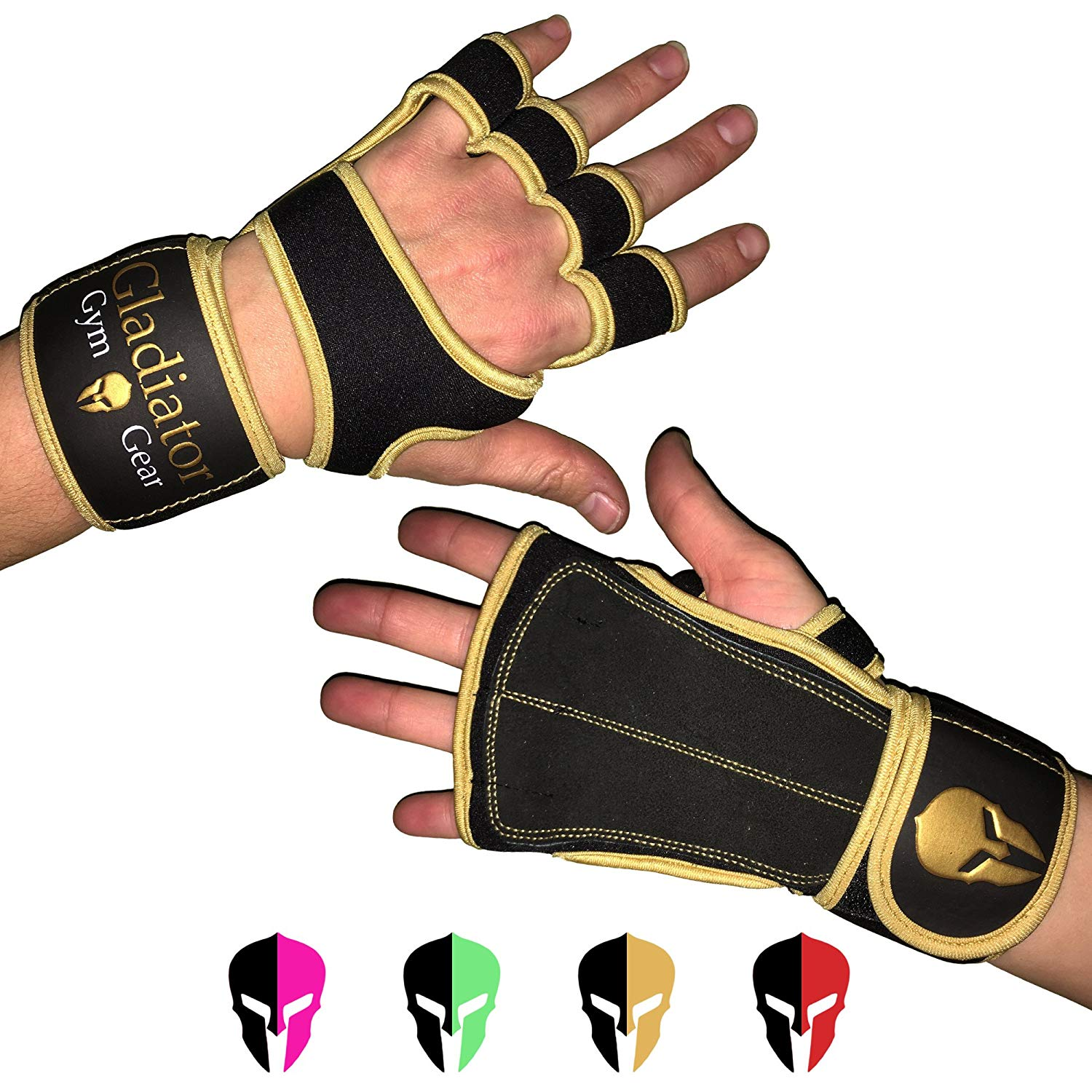 Gladiator Gym Gear Cross Training Gloves