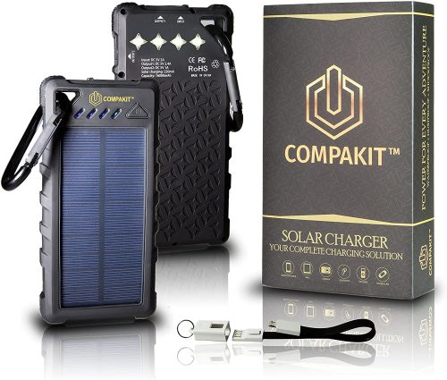 Solar Phone Charger by Compakit