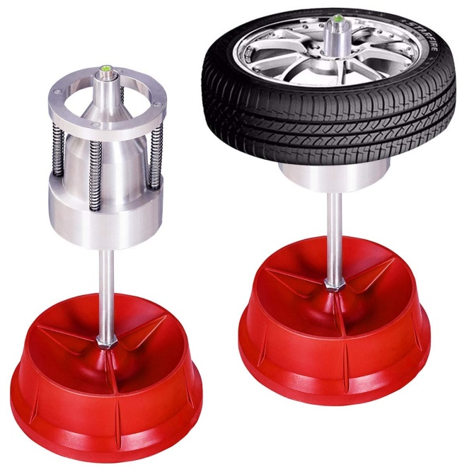 Goplus Pro Portable Hubs Wheel Balancer