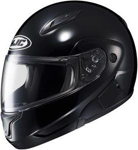 HJC Solid Mens CL-MAX II Bluetooth Sports Bike Motorcycle Helmet