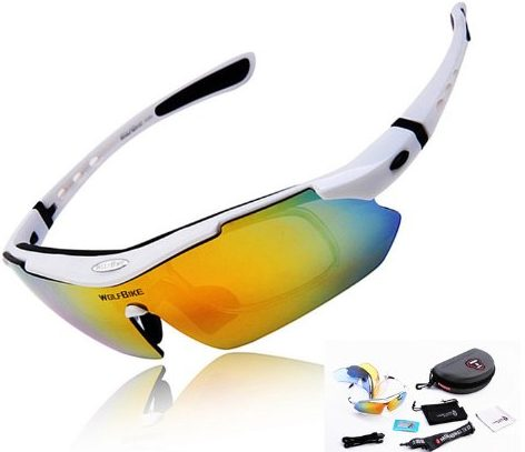 Wolfbike POLARIZE Sports Cycling Sunglasses