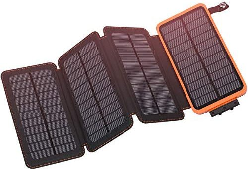 Solar Charger 25000mAh Hiluckey