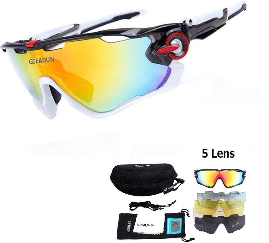 HTTOAR Polarized Protection UV400 Cycling Glasses - Cycling Glasses