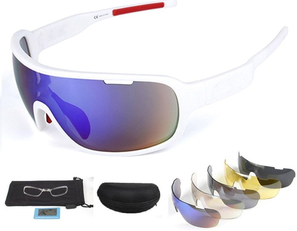 Lorsoul Polarized Sports Sunglasses UV400 - Cycling Glasses