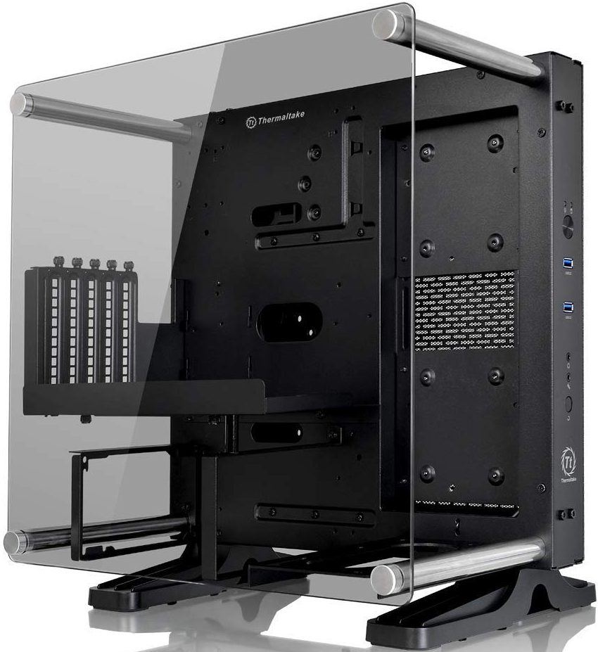 Thermaltake Core P1 Tempered Glass Edition Mini ITX Open Frame Panoramic Viewing