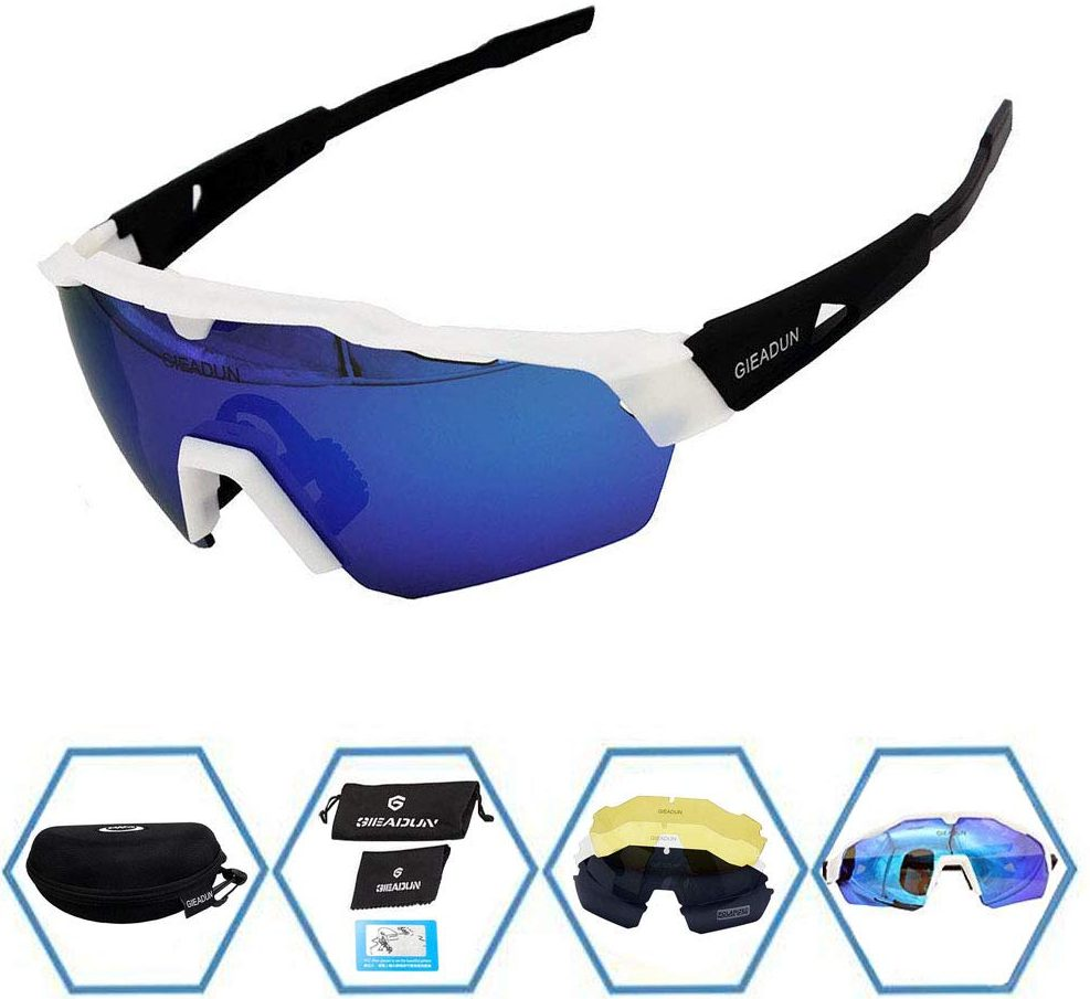 GIEADUN Sports Sunglasses Protection Cycling Glasses