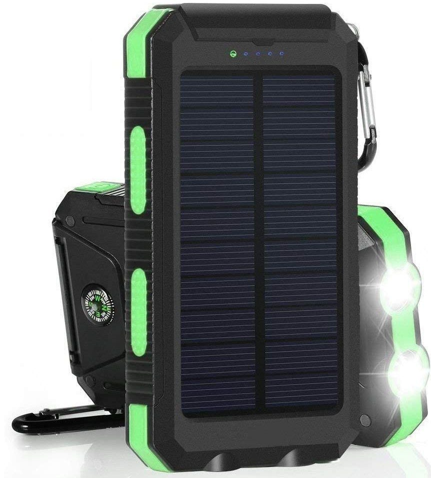 20000mAh Solar Power Bank Solar Charger by Errbic