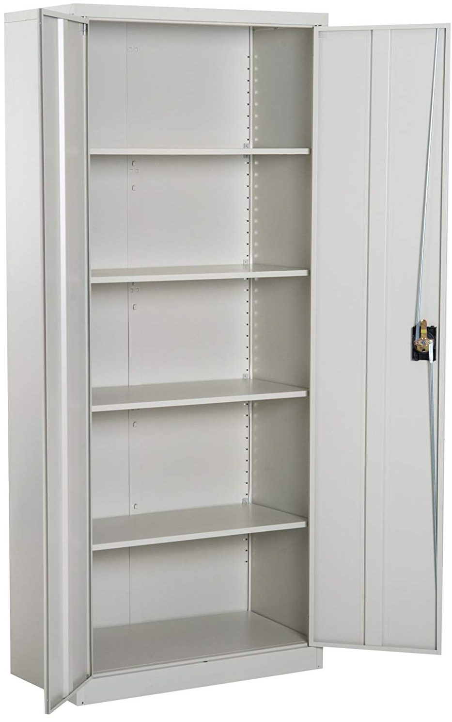 "Vinsetto 72"" Tall Commercial Utility Steel Storage Cabinet"
